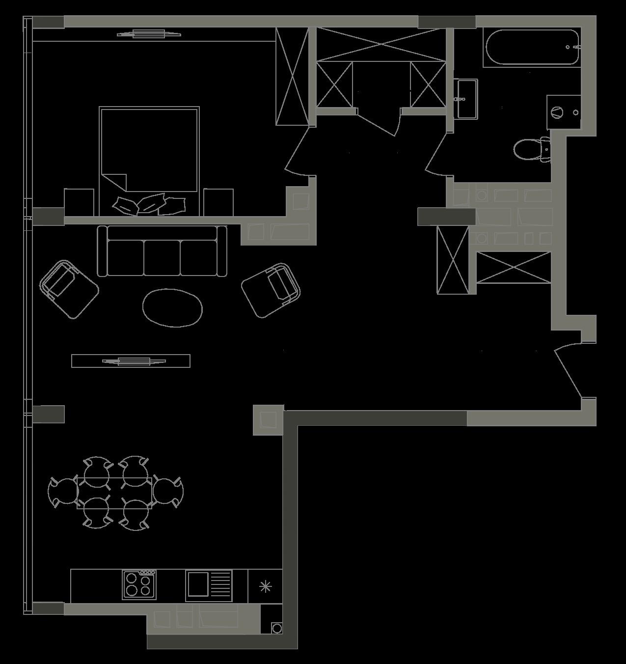 Квартира KV_101_1K_1_1_4