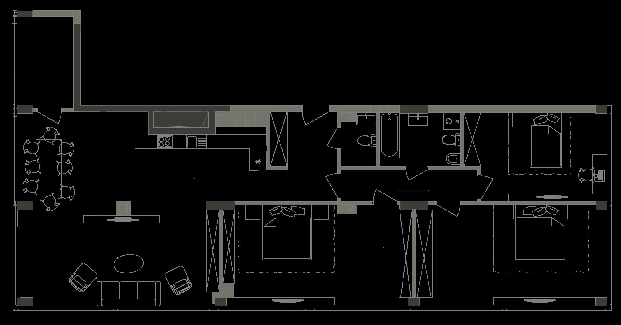 Квартира KV_104_3P_1_1_3