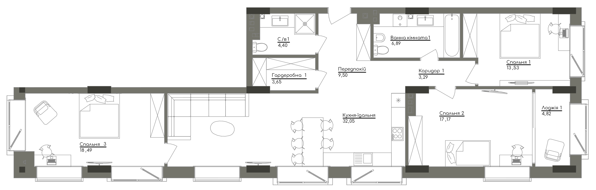 Квартира KV_10_3A_1_1_1