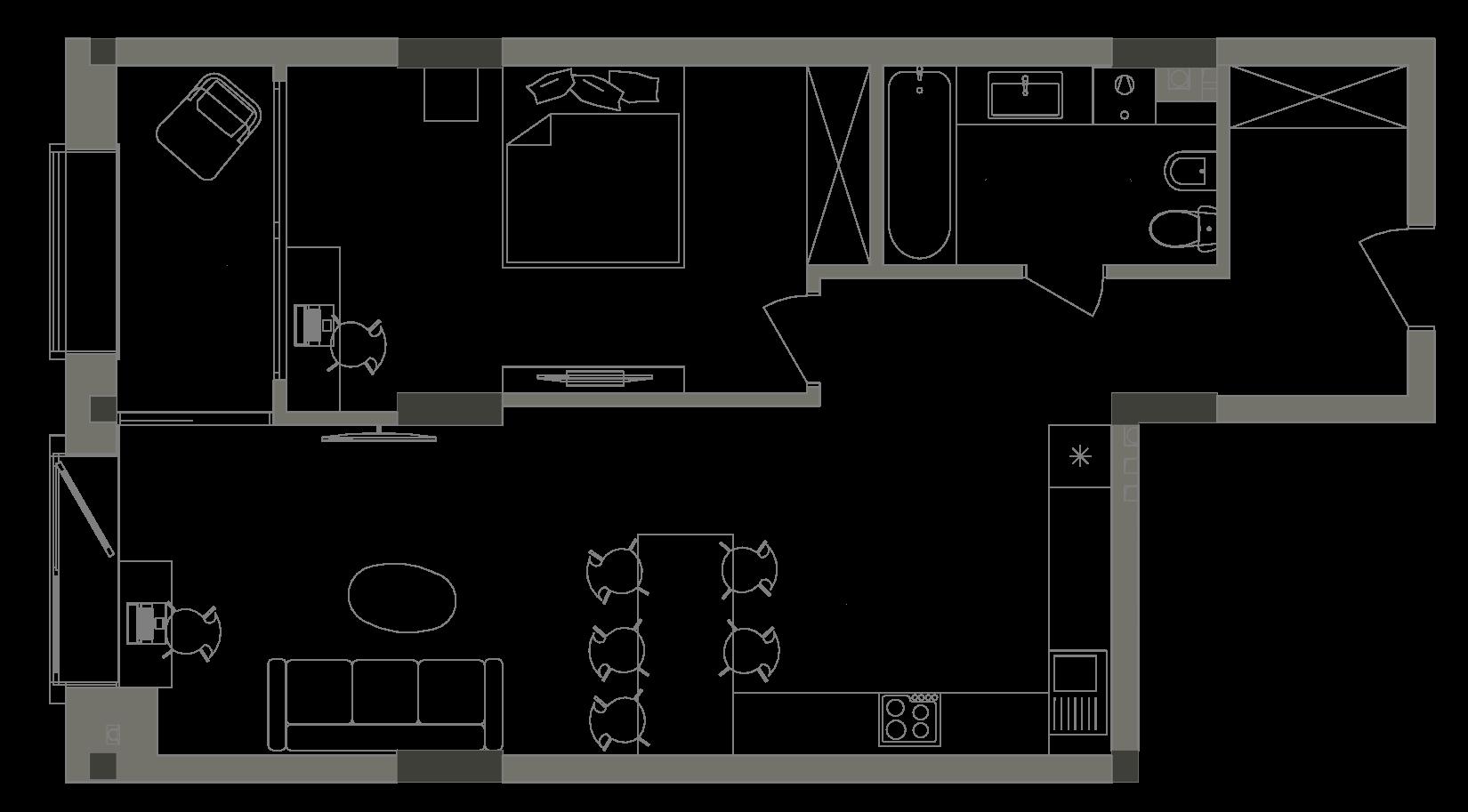 Квартира KV_11_1A_1_1_2