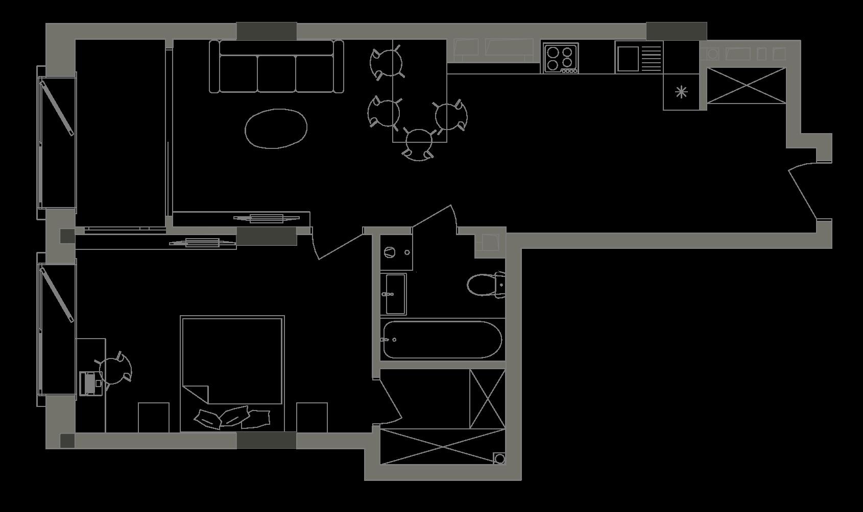 Квартира KV_13_1B_1_1_4