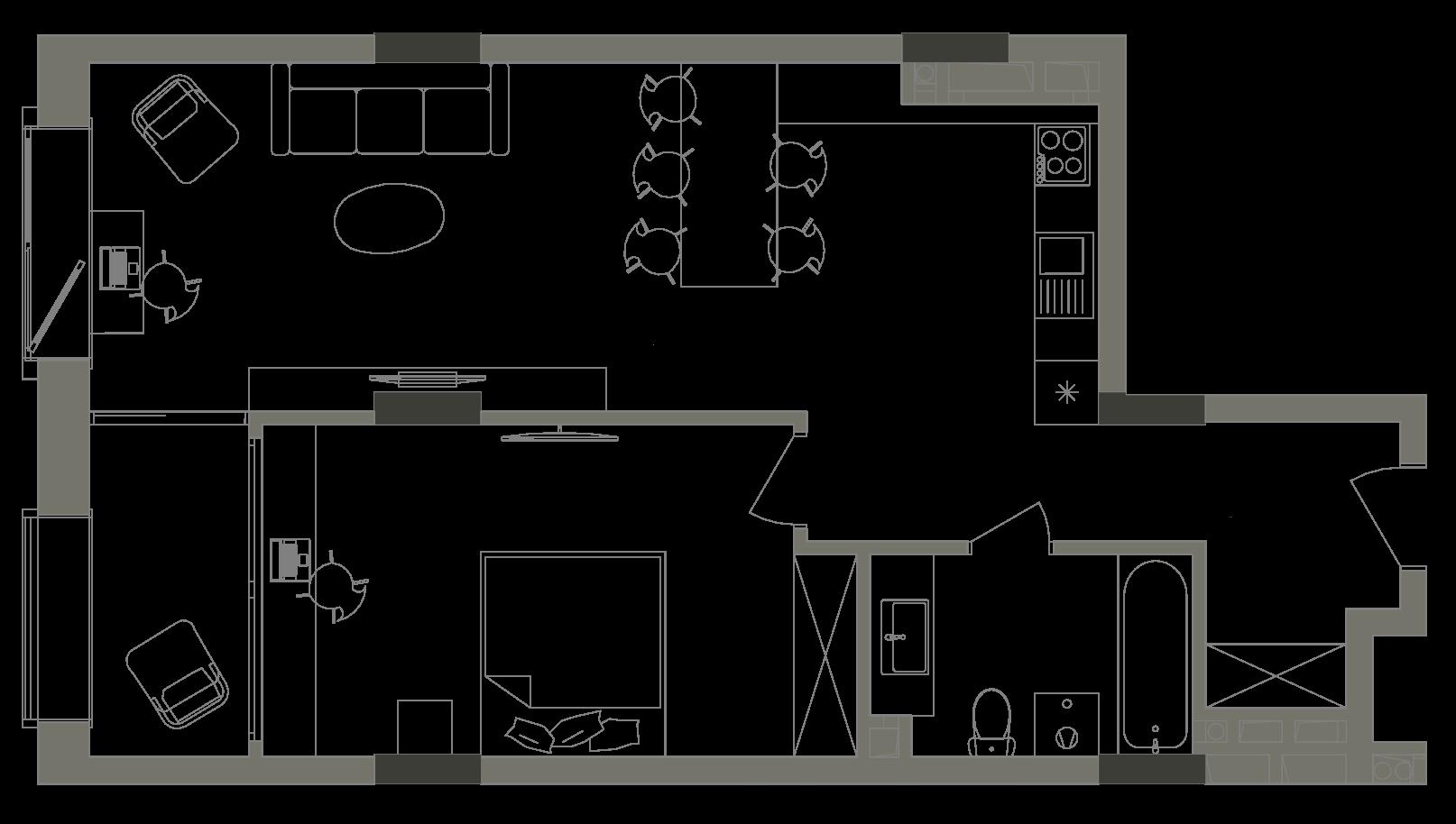 Квартира KV_14_1V_1_1_5