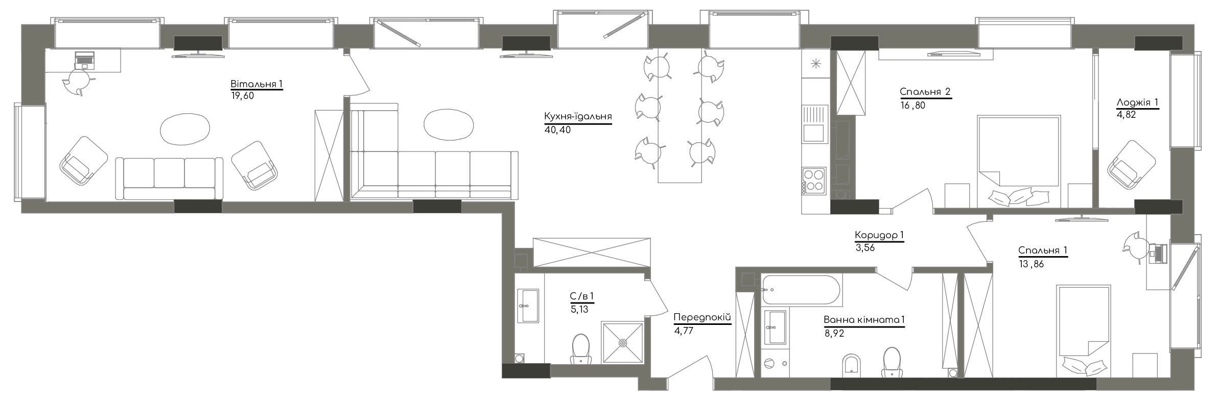 Квартира KV_15_3V_1_1_6