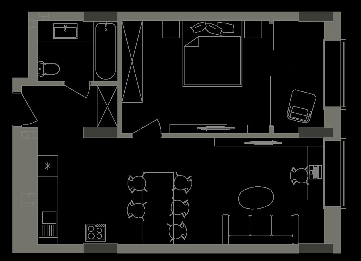 Квартира KV_17_1G_1_1_8
