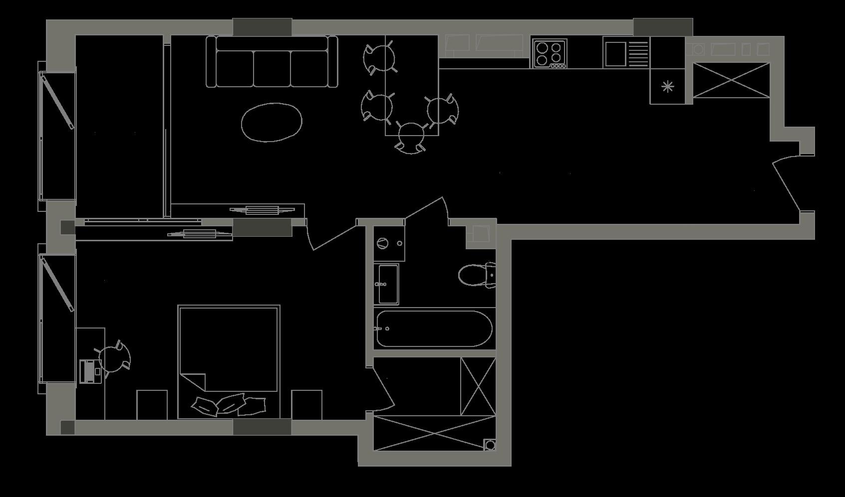 Квартира KV_21_1B_1_1_4