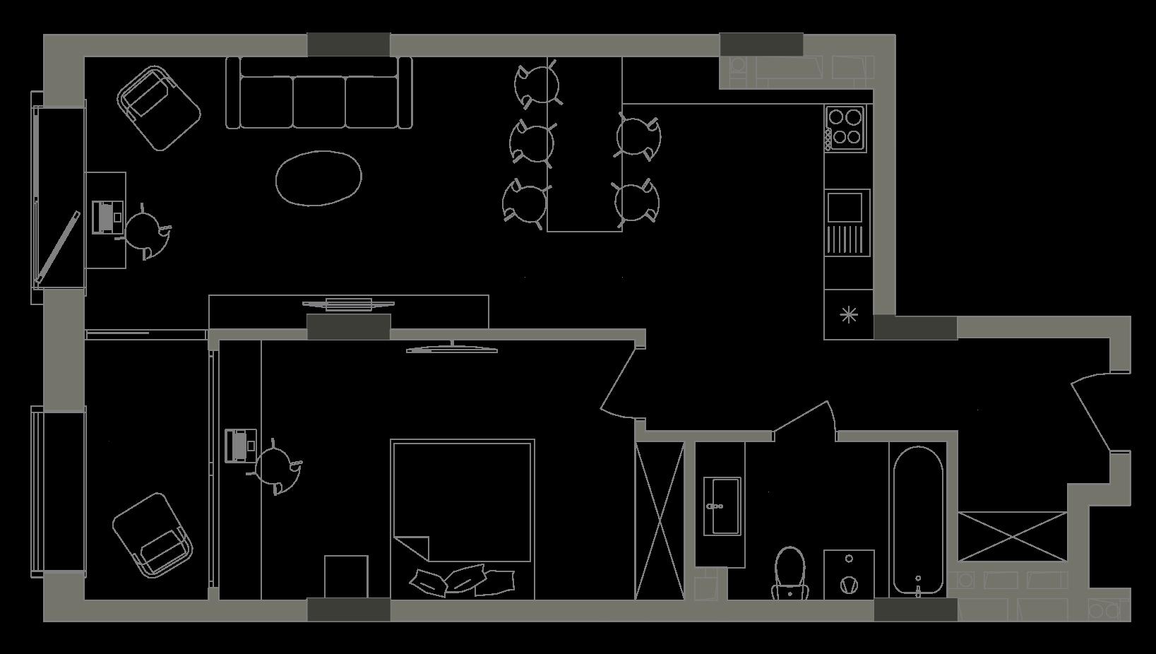 Квартира KV_22_1V_1_1_5