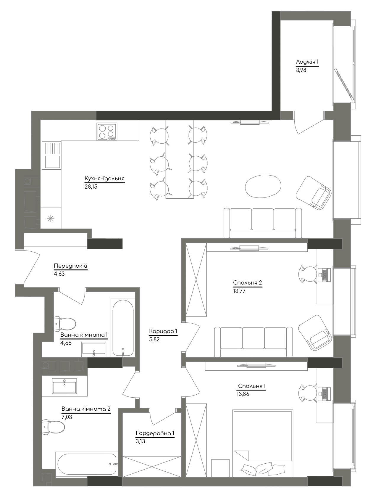 Квартира KV_24_2G_1_1_7