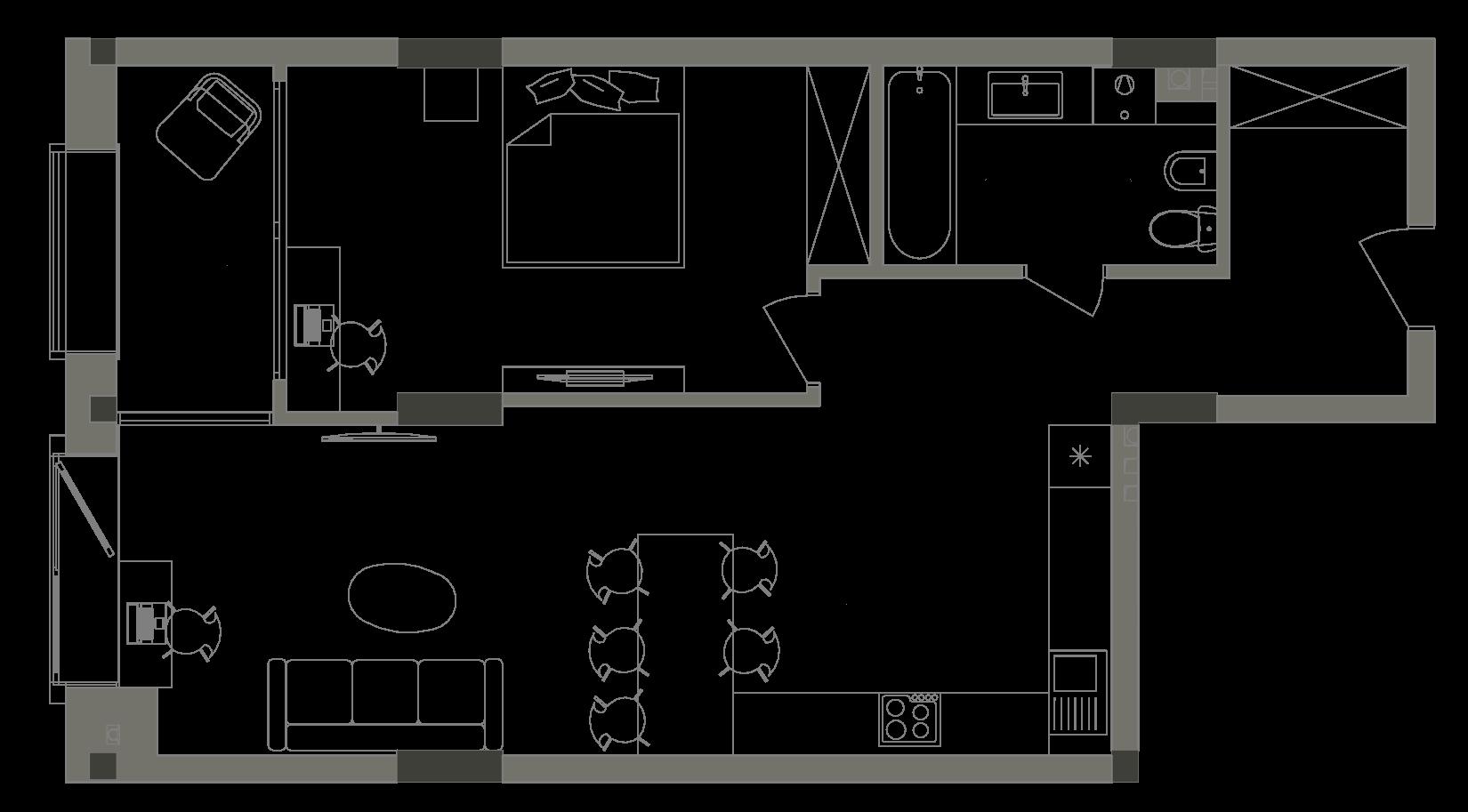Квартира KV_2_1A_1_1_2