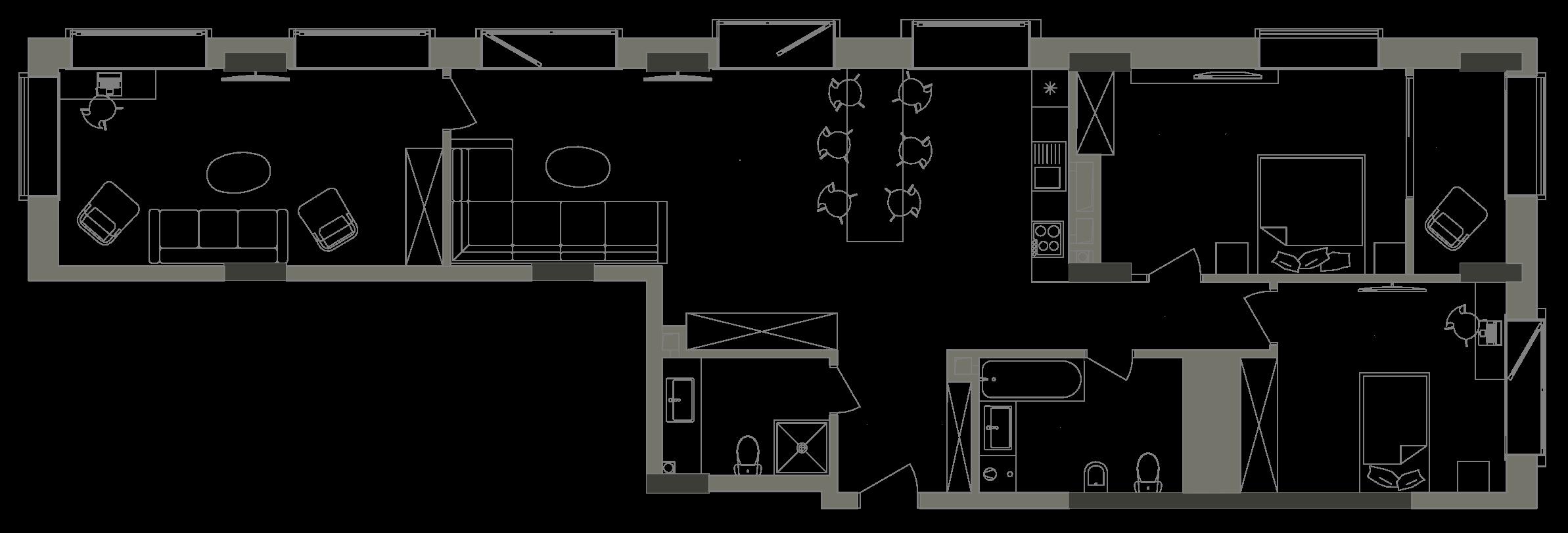 Квартира KV_30_3V_1_1_6