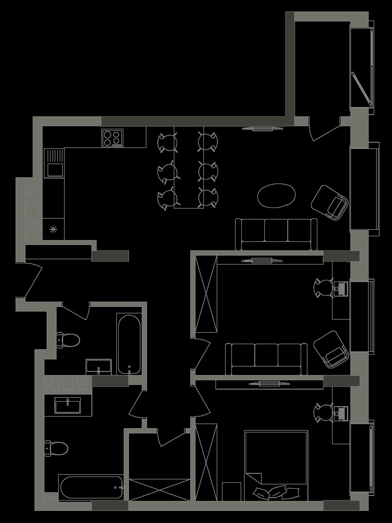 Квартира KV_31_2G_1_1_7