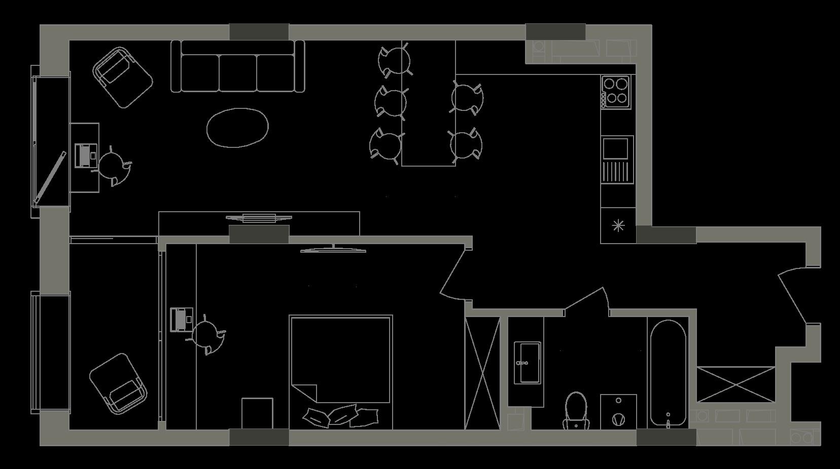 Квартира KV_36_1V_1_1_5