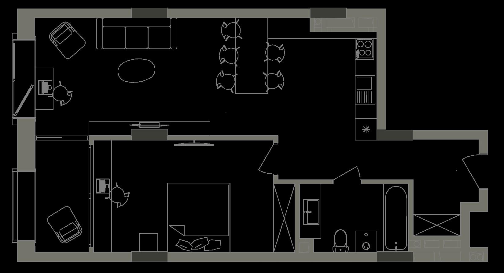 Квартира KV_50_1V_1_1_5