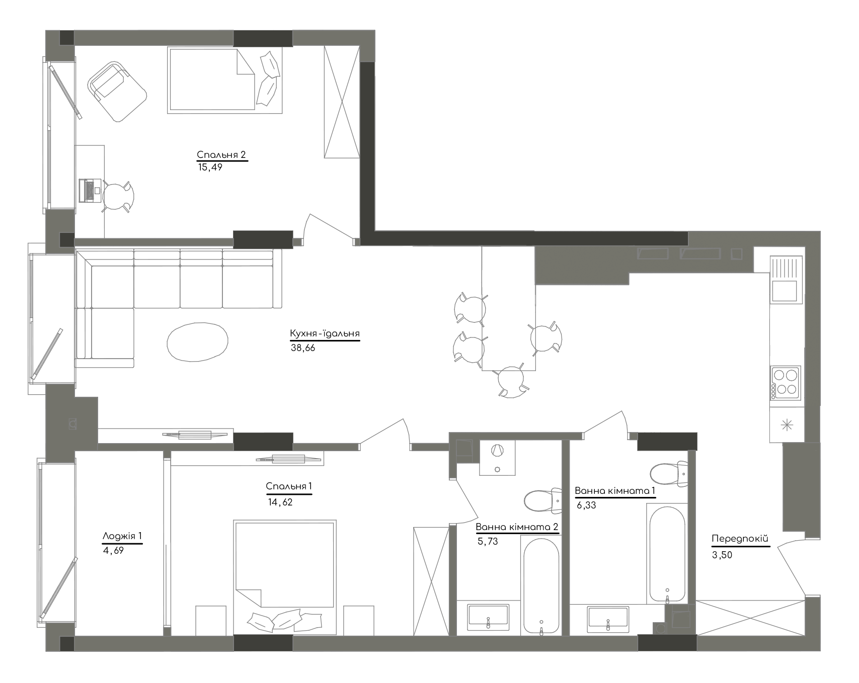 Квартира KV_55_2A_1_1_3