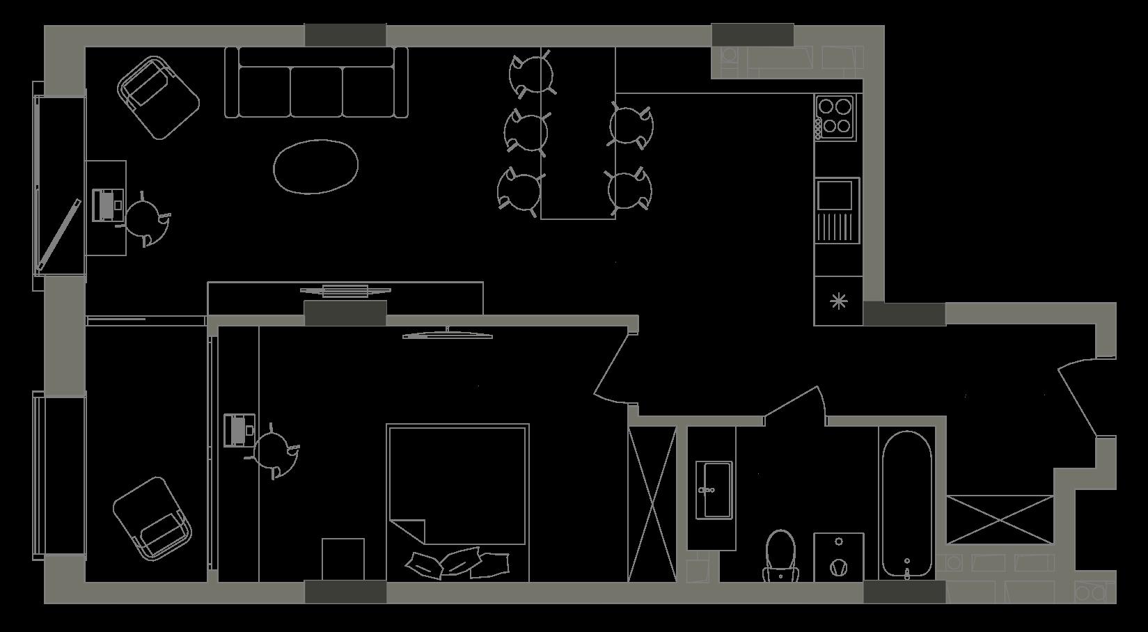 Квартира KV_57_1V_1_1_5