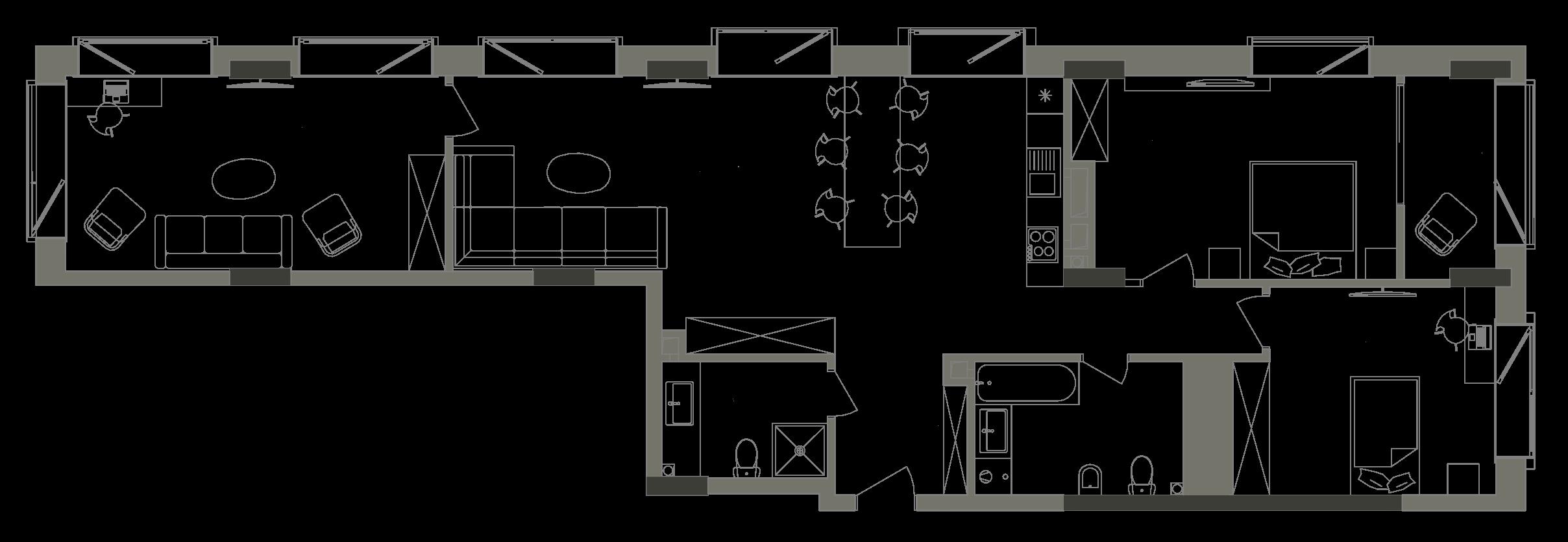 Квартира KV_58_3V_1_1_6