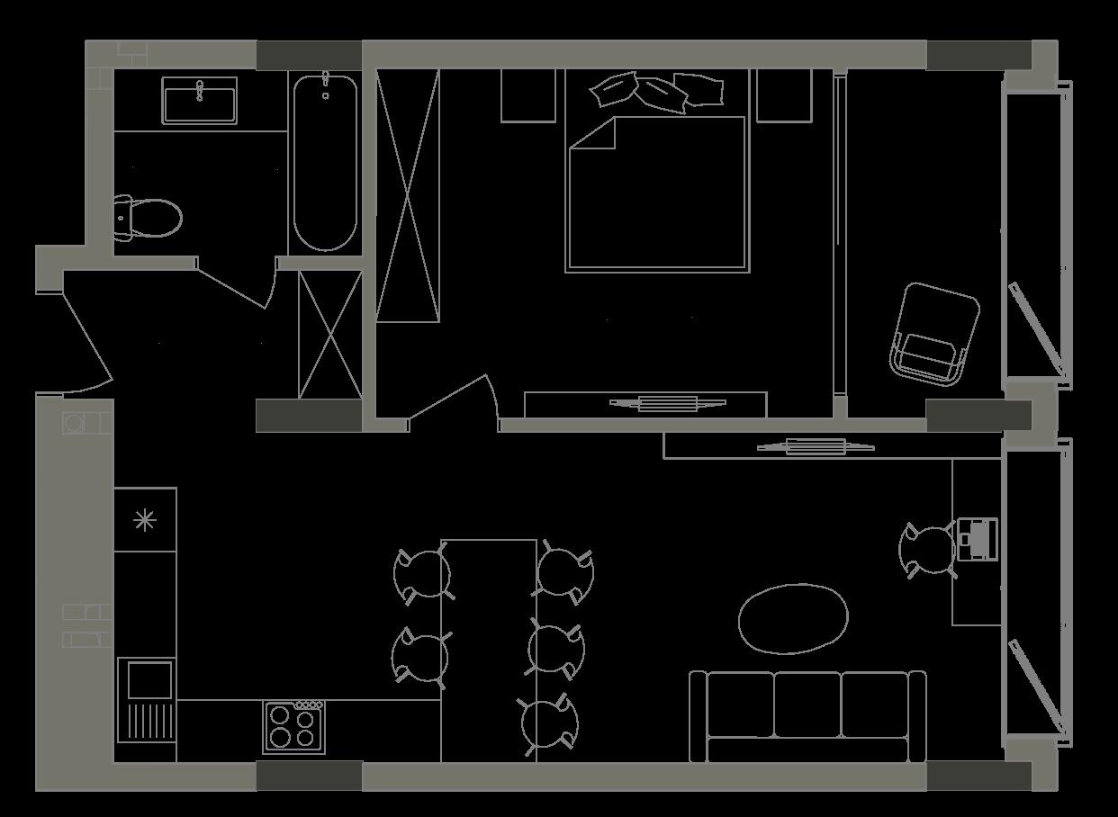 Квартира KV_60_1E_1_1_8