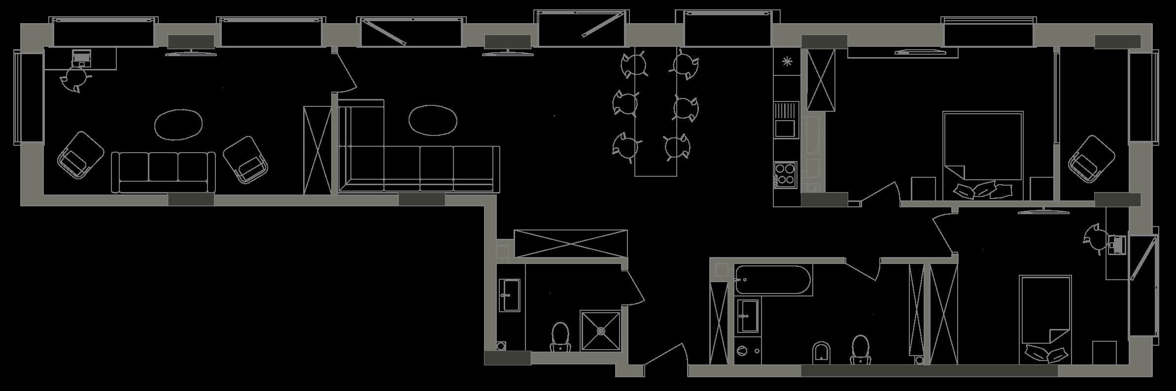 Квартира KV_6_3V_1_1_6