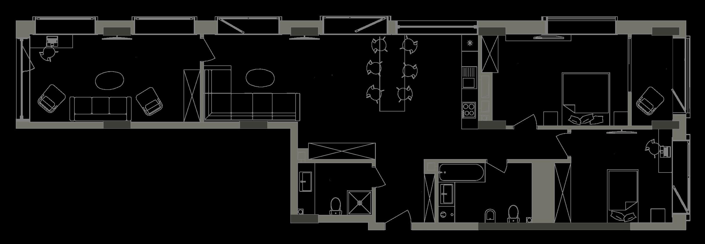 Квартира KV_74_3V_1_1_6