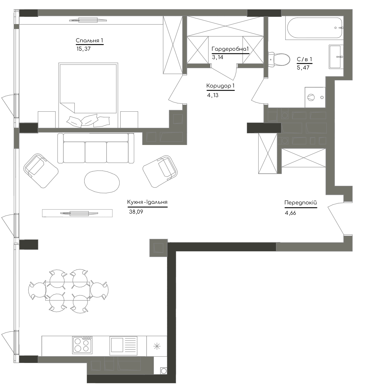 Квартира KV_81_1K_1_1_4