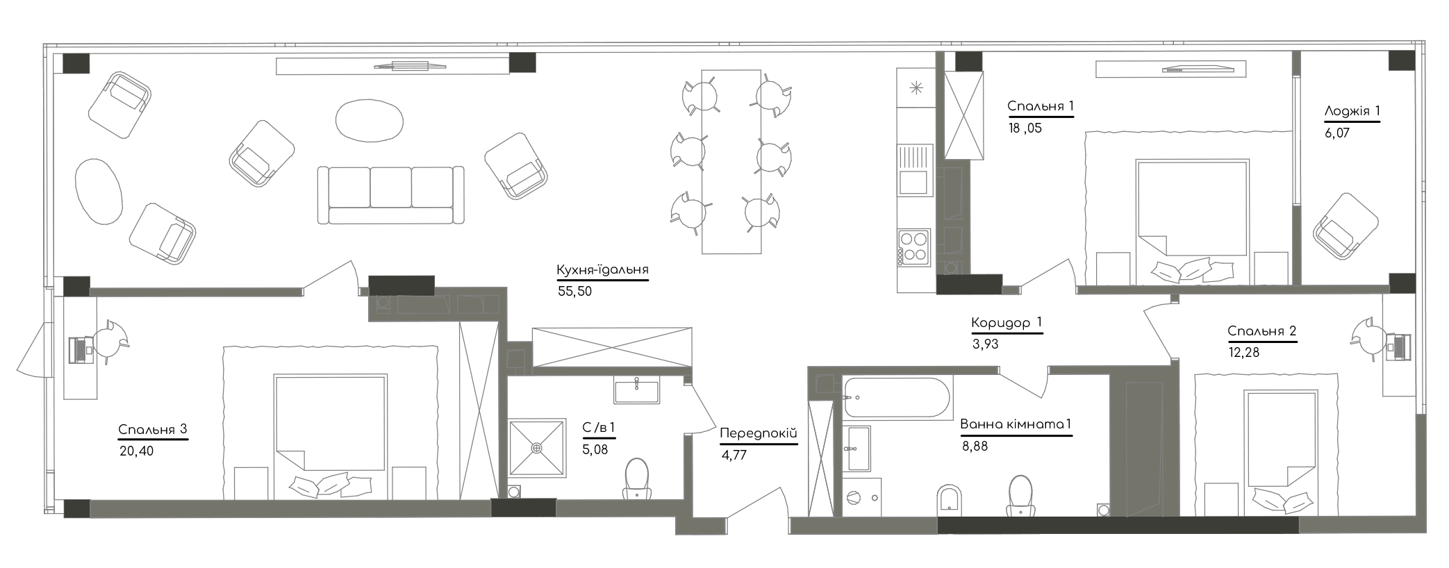 Квартира KV_82_3C_1_1_6