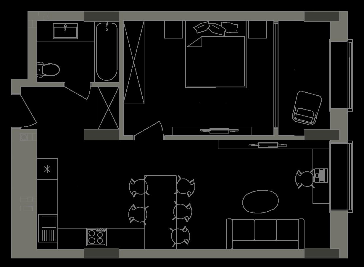 Квартира KV_8_1G_1_1_8