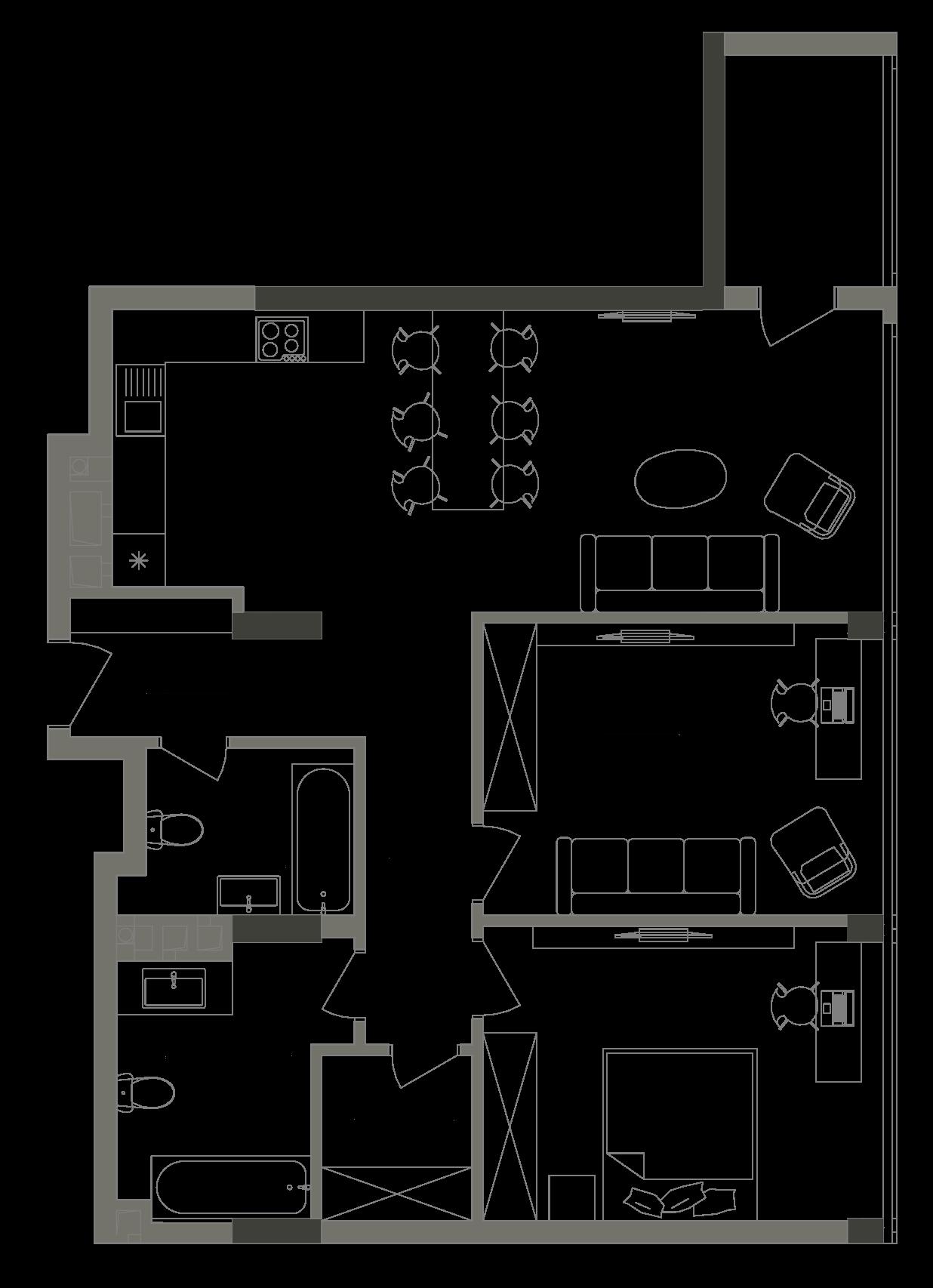 Квартира KV_95_2E_1_1_7