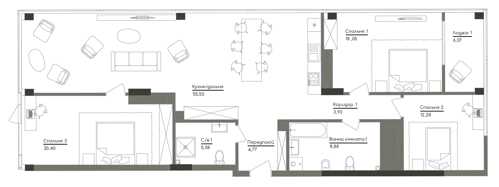 Квартира KV_98_3C_1_1_6