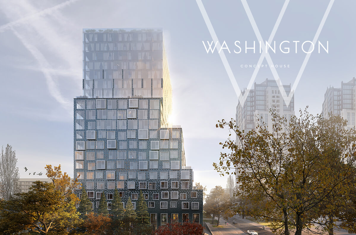 Now it is easier to become resident of building for gourmets! - WASHINGTON Concept House