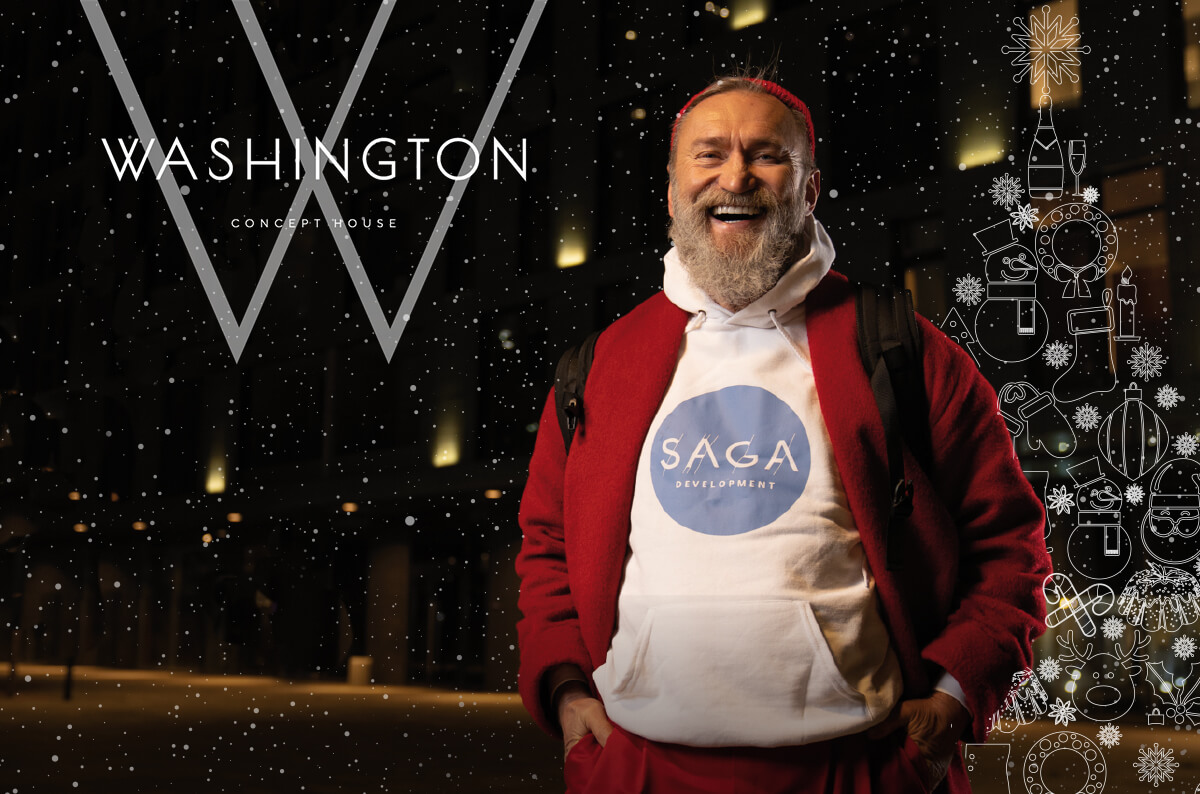 Saga Claus дарит год без удорожания! - WASHINGTON Concept House