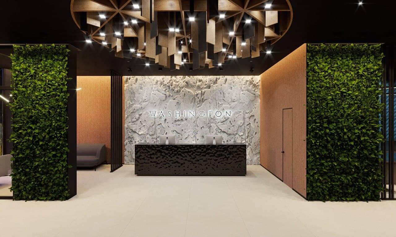 Lobby for true gourmets at WASHINGTON Concept House - WASHINGTON Concept House